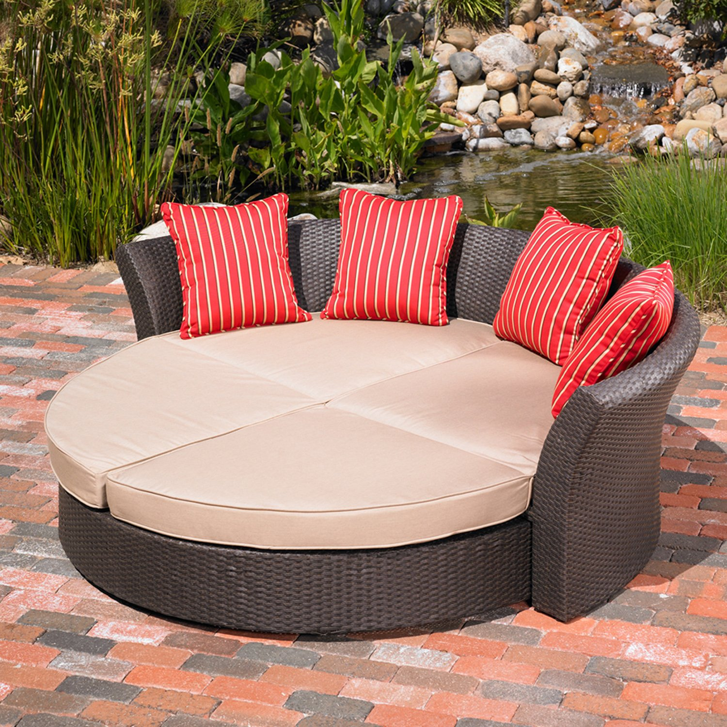 Amazon Mission Hills Corinth Daybed Sunbrella Outdoor Patio