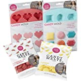 Rosanna Pansino Hearts n' Gems Candy Making Set by Wilton