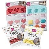 Wilton Rosanna Pansino Hearts n' Gems Candy Making Set