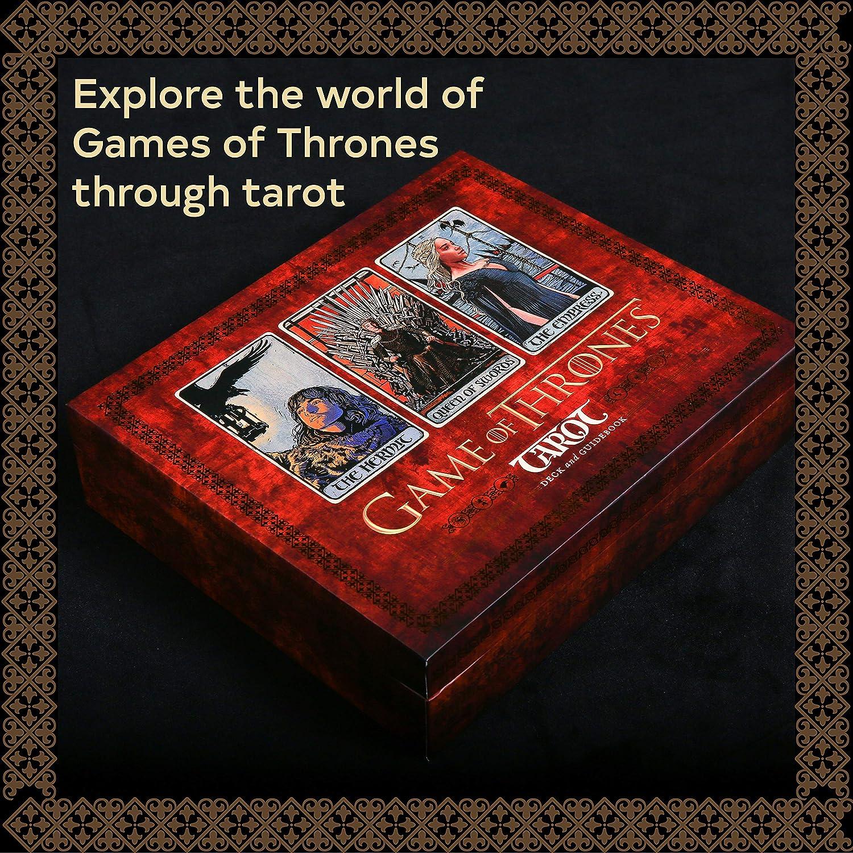 Tarot Game Of Thrones: Anónimo, Anónimo: Amazon.es: Juguetes y juegos