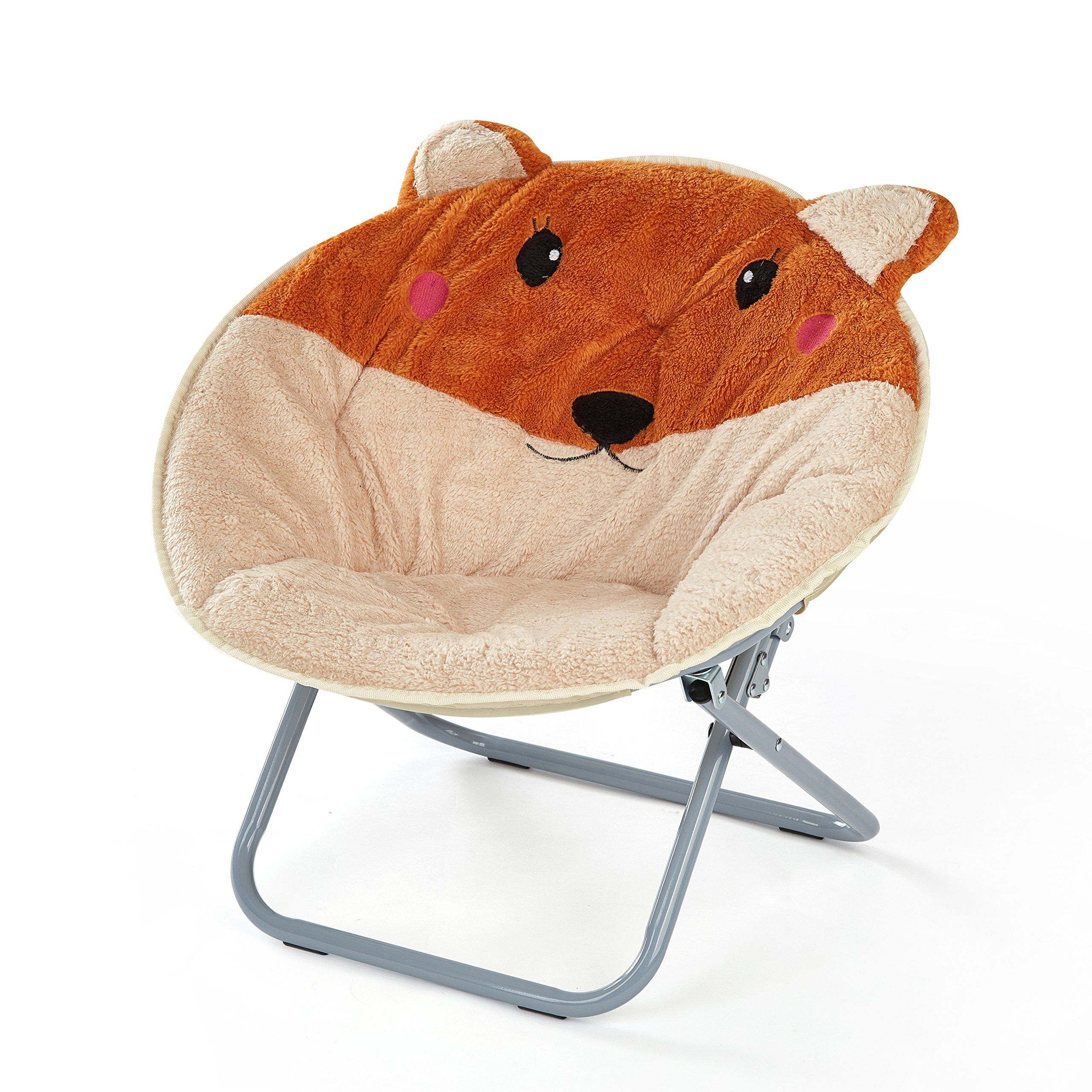 Heritage Kids 3D Fox Saucer Chair