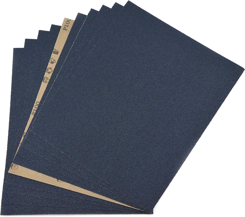 "10 pcs Hi Quality Abrasive Paper Sandpaper 240 Grit 9/"" x 11/"" Wet Dry Waterproof"