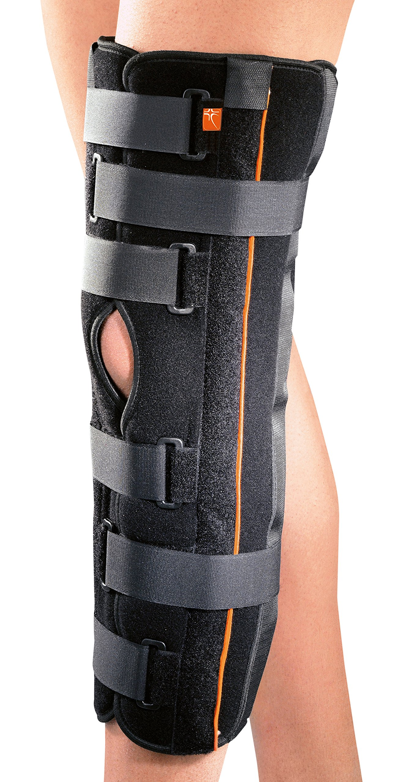 RO + Ten M8105 Immobilizer of Knee, Black by ROTEN