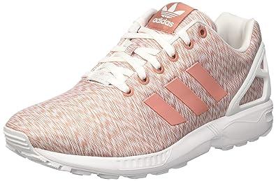 29df9ca847 adidas ZX Flux W Schuhe 9,5 pink/pink/white: Amazon.de: Schuhe ...