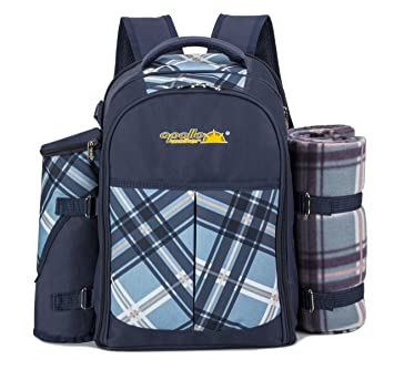 apollo walker 4 person picnic backpack