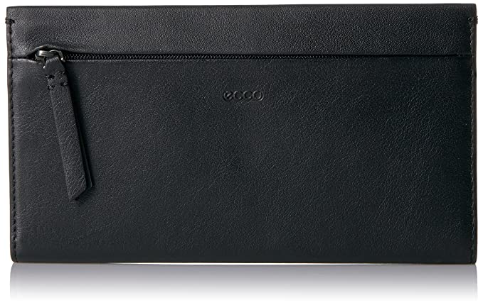 Ecco Sculptured Large Wallet, Carteras Mujer, Negro (Black), 1,5 x 11 x 19 cm (W x H x D): Amazon.es: Zapatos y complementos