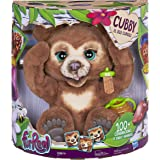 FurReal Cubby Curious Brown Bear - Interactive Plush Pet - 100+ Sounds & Motions - Kids Toys - Ages 4+