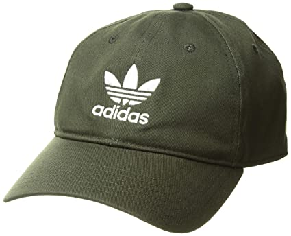 0faf1876b798c Amazon.com  adidas Men s Originals Relaxed Strapback Cap