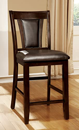 Furniture of America Dalcroze Modern Pub Dining Chair