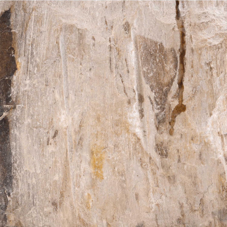 Divero Natur-Stein Waschschale Tortona Aufsatz-Waschbecken Handwaschbecken Marmor innen poliert poliert poliert außen naturbelassen creme beige weiß 5c1f4c