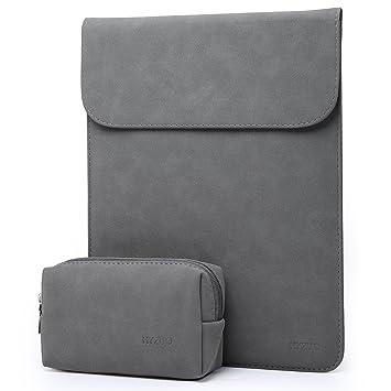 grand choix de e4995 b1aa9 HYZUO 13 Pouces Housse Ordinateur Portable Pochette PC Sacoche Compatible  avec 2018 MacBook Air 13 A1932/MacBook Pro 13 2016-2018/Dell XPS 13/Surface  ...