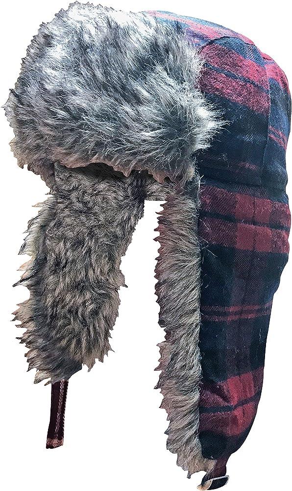 Sock Snob Hombre Invierno Forro Polar Gorro con Orejeras (One Size ...