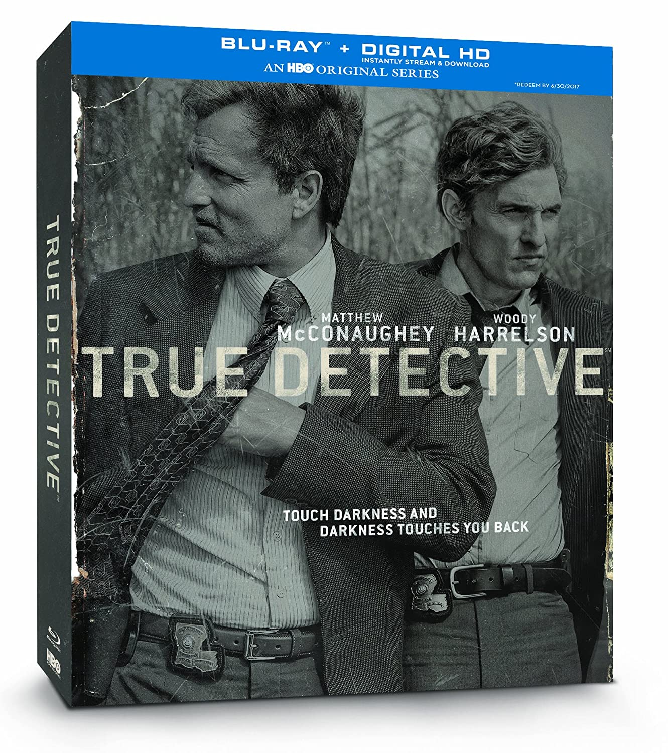 True Detective: Season 1 [Blu-ray + Digital Copy] Matthew McConaughey Woody Harrelson Michelle Monaghan Michael Potts