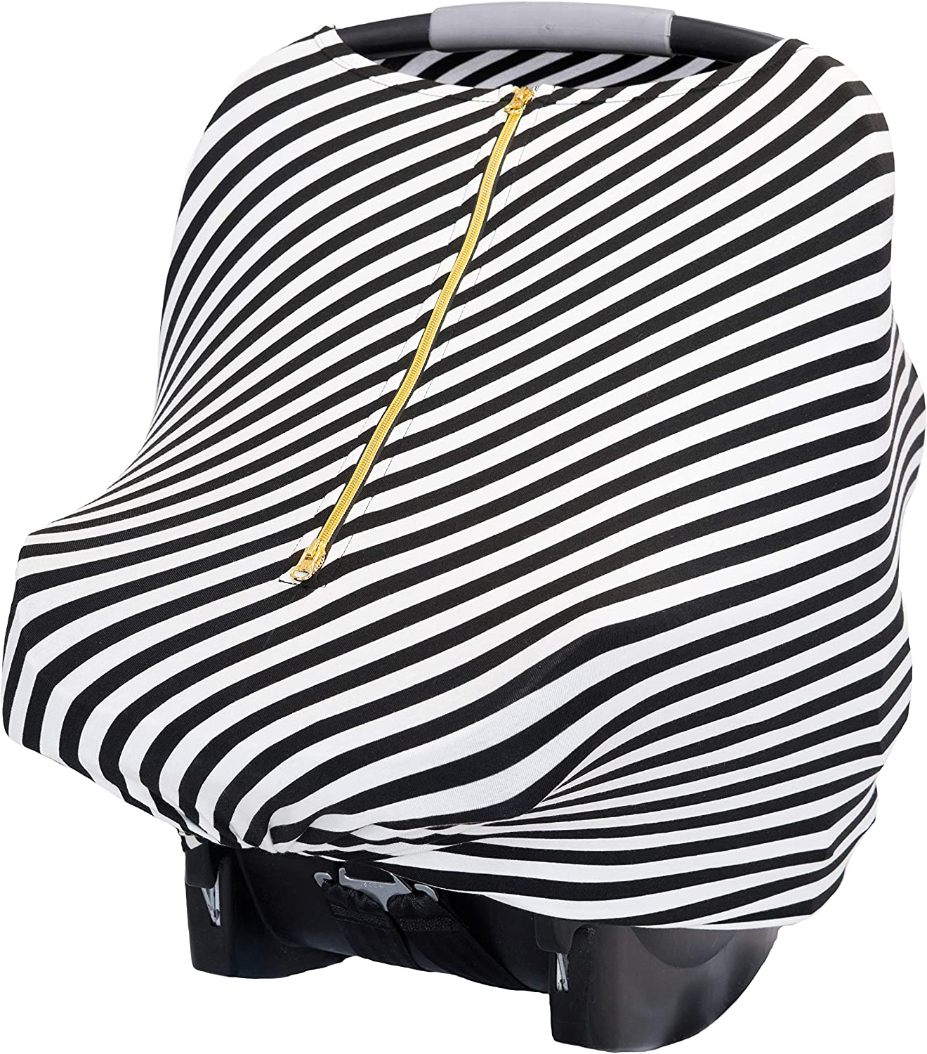 Best Gifts Aprince Baby Car Seat Cover Nursing Cover Breastfeeding Cover Soft Stretchy Multi-Use Cover for Nursing Baby Car Seat Stroller Scarf and Shopping Cart
