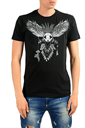 2f15540b Amazon.com: Roberto Cavalli Men's Black Graphic Print T-Shirt: Clothing