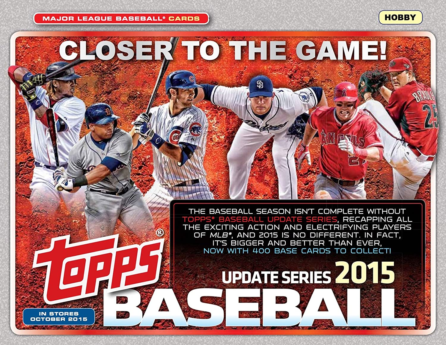 2015 Topps Traded Baseball Updates and Highlights Series 400 Card Set Complete M Mint