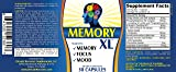 Memory-XL: Brain/Memory Support Supplement Pills