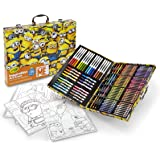 Crayola Despicable Me Inspiration Art Case, 140 Pieces, Minions, Art Set, Ages 6, 7, 8, 9, 10