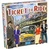 Ticket to Ride New York Board Game | Family Board Game | Board Game for Adults and Family | Taxi Game | Ages 8+ | For 2 to 4