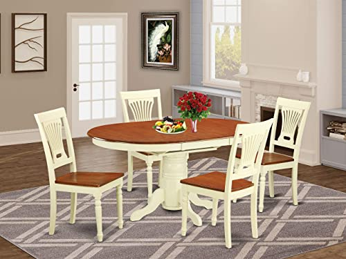 5 Pc Dining room set-Oval dinette Table