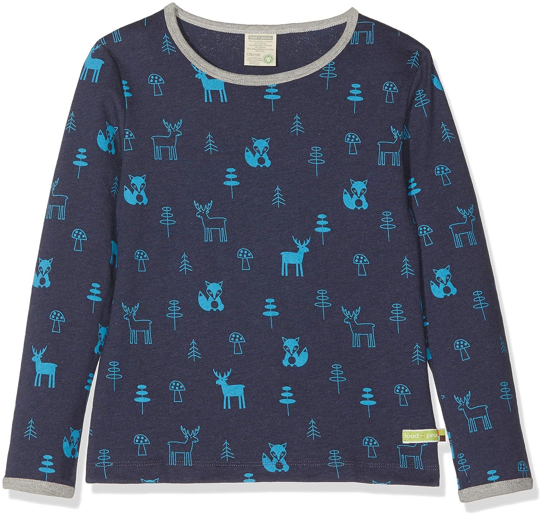 Druck loud proud Jungen Langarmshirt Shirt Woll-Anteil