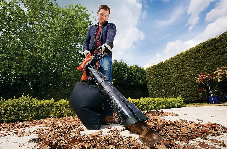 Black & Decker GW2500 Electric Leaf Blower/Vacuum/Shredder Option with electrical cord 2500 W Black&Decker GW2500-QS
