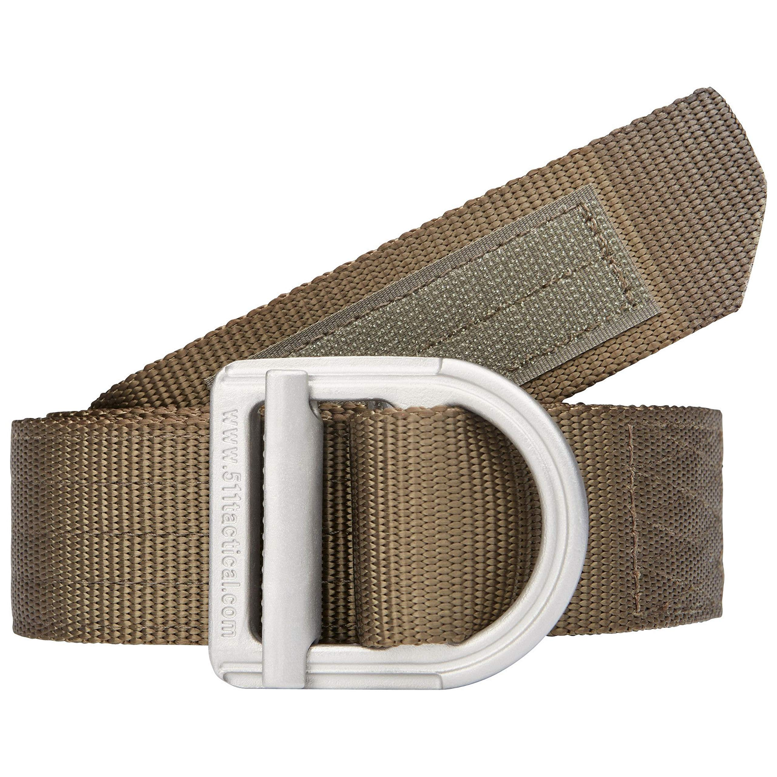 5.11  Trainer 1.5'' Tactical Belt, Heavy Duty for Military and Law Enforcement, Style 59409, Tundra (192), S