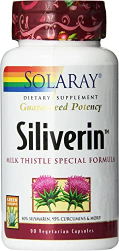 Solaray Siliverin Supplement, 140mg, 90 Count