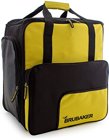 BRUBAKER Boot Bag  Superfunction 2.0  Backpack holds complete Ski or  Snowboard Equipment incl. 087831c9e3ec5