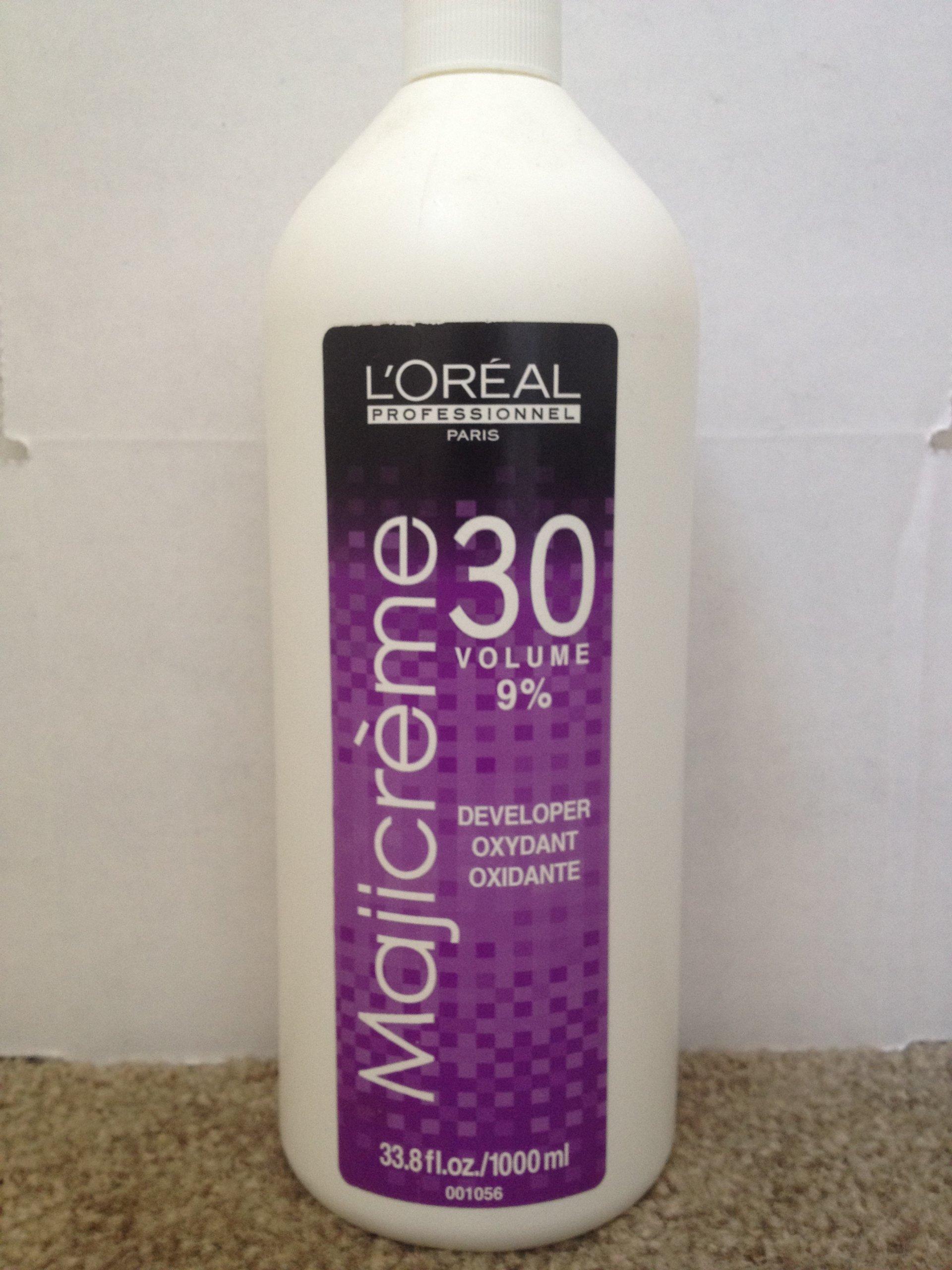 Loreal Maji Creme Developer Lotion 30 Volume 9% 33.8 oz