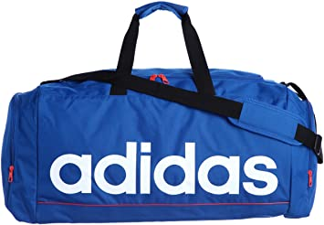 159557ad0833 adidas LINEAR ESS TBL Sports Bag Azure Blue  Amazon.co.uk  Shoes   Bags