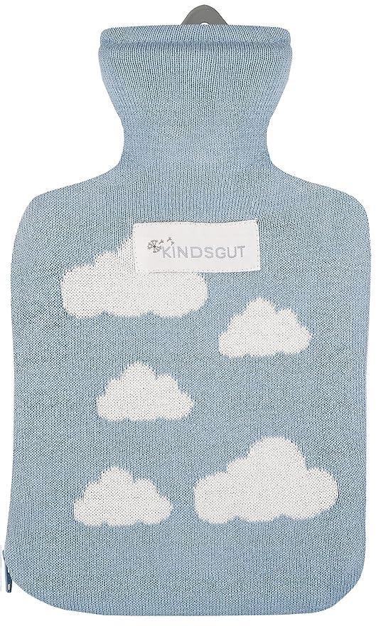 Kindsgut - Bolsa de agua caliente para bebé, algodón con ...