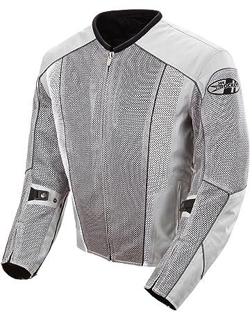 c02f9e27c13d0 Joe Rocket Phoenix 5.0 Men s Mesh Motorcycle Riding Jacket (Silver Silver