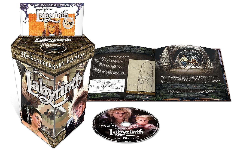 Amazon.com: Labyrinth: 30th Anniversary Collector's Edition [Blu ...