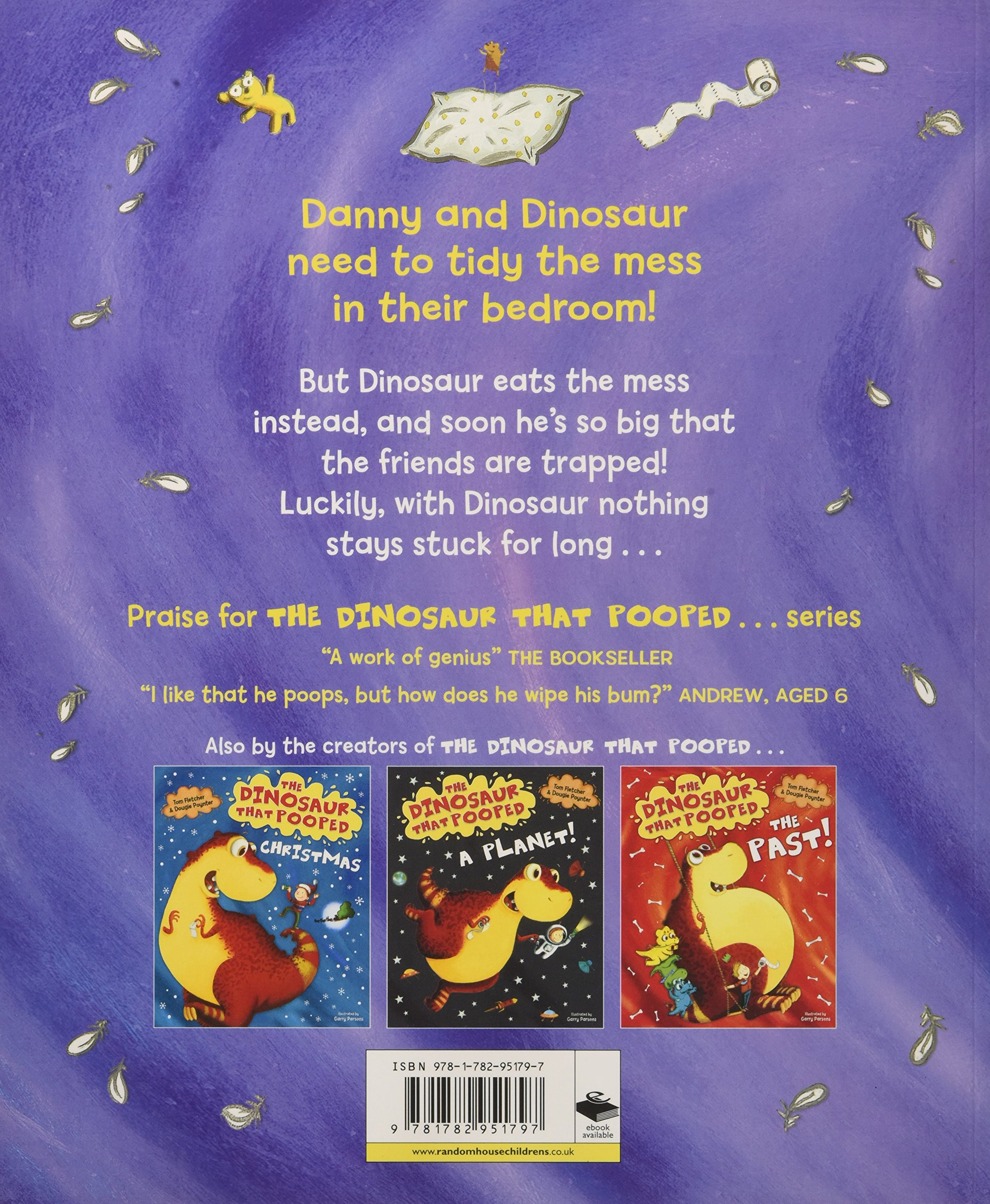 the dinosaur that pooped the bed amazon co uk tom fletcher