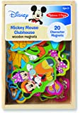 Melissa & Doug Disney Mickey Mouse Clubhouse Wooden Character Magnets (20 pcs)