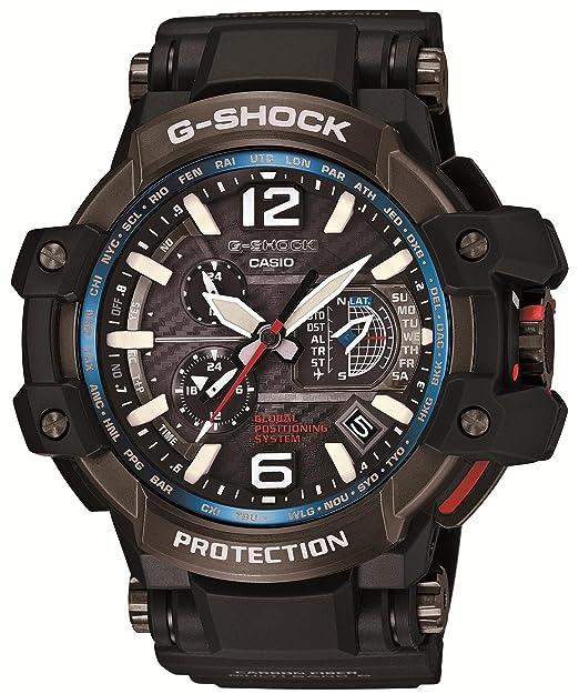 Amazon.com: CASIO G-SHOCK (GPW-1000-1AJF) SKY COCKPIT GPS HYBRID SOLAR JAPANESE MODEL 2014 JULY RELEASED: Watches