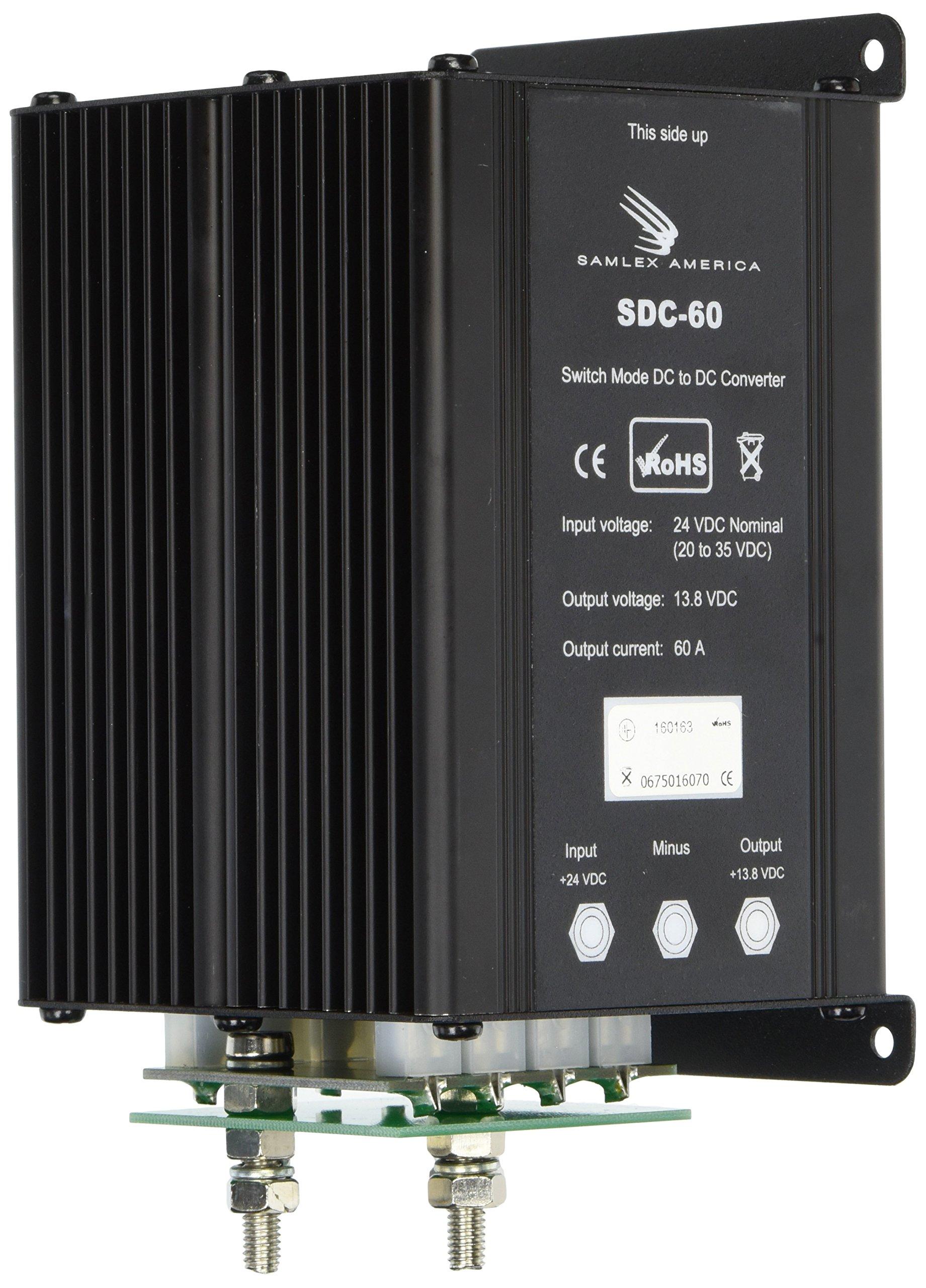 Samlex America (SDC60) 60 Amp DC Converter by Samlex America