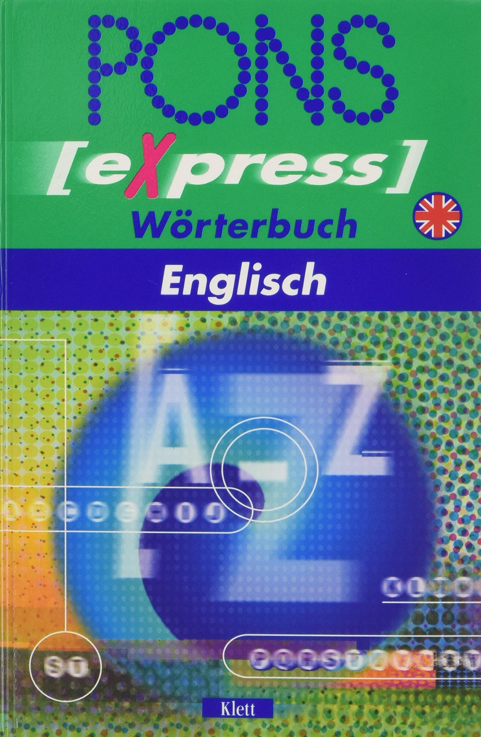 PONS Express Wörterbuch, Englisch