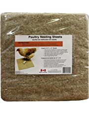 """Hemp Poultry Nesting Sheets - 5 Pack of 13 x 13"""""""