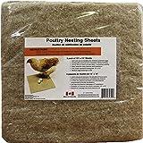 "Terrafibre Hemp Poultry Nesting Sheets - 5 Pack of 13 x 13"""