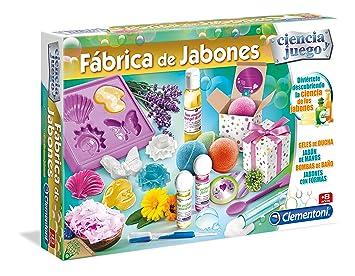 Clementoni Fabrica de jabones, Miscelanea (55205.4): Amazon.es: Juguetes y juegos