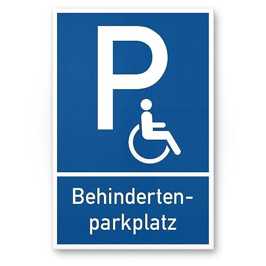 Aparcamiento minusválidos, Cartel de aparcamiento de ...