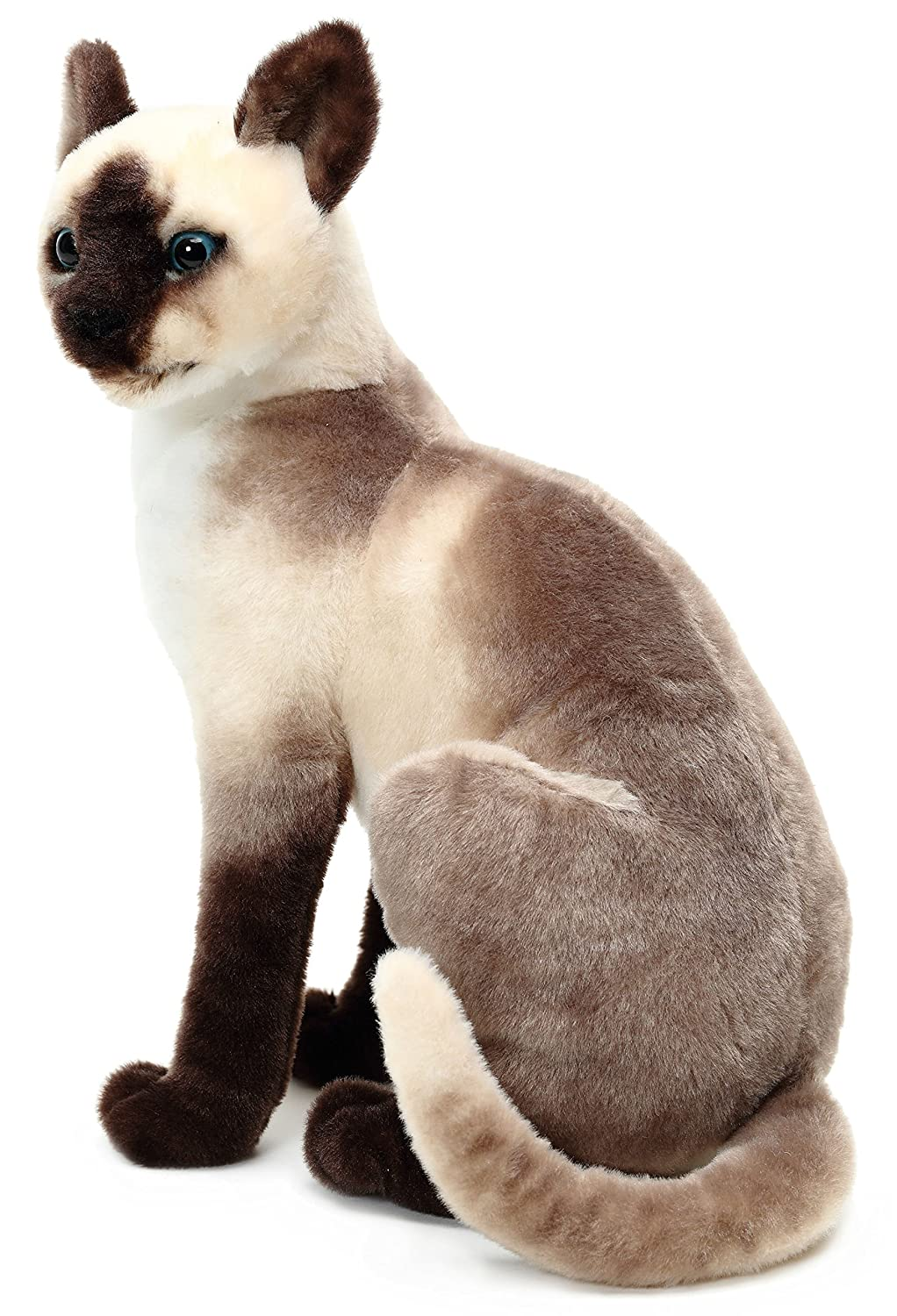14 Inch Stuffed Animal Plush VIAHART Stefan The Siamese Cat by Tiger Tale Toys
