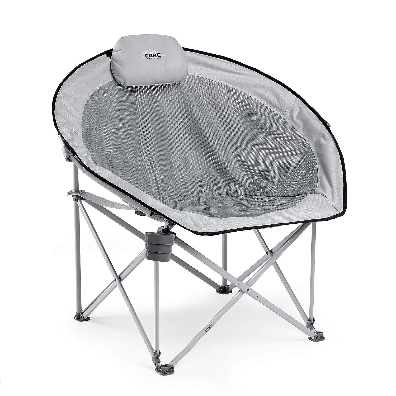 CORE Oversized Padded Round Mesh Chair