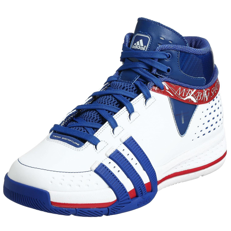 buy popular d7fc7 19472 Amazon.com  adidas Mens TS Creator Player Basketball Shoe  B