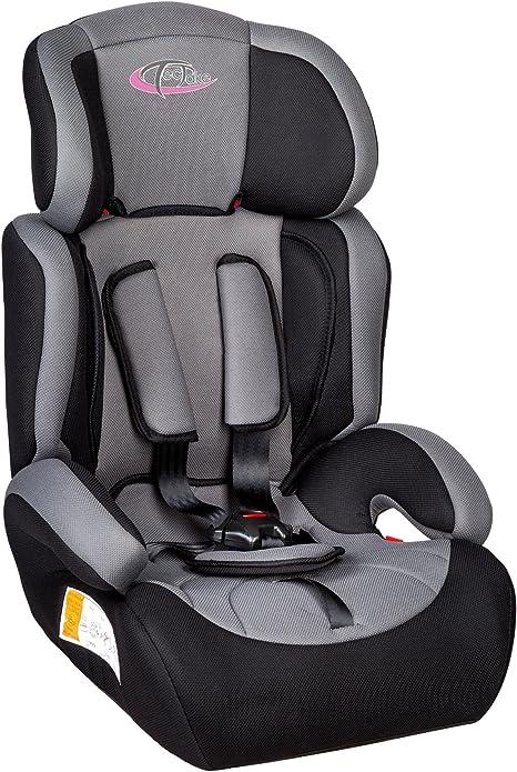 TecTake Silla de coche para niños - Grupos 1/2/3 pesos de 9-36 kg ...