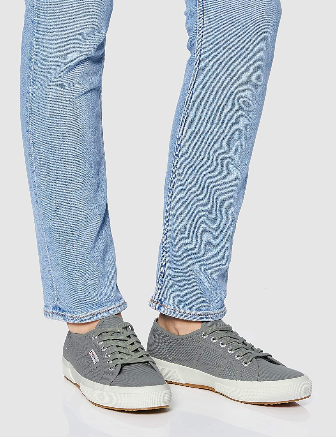 Superga 2750 Cotu Classic', Baskets Mixte Adulte Gris Gray Dk Sage