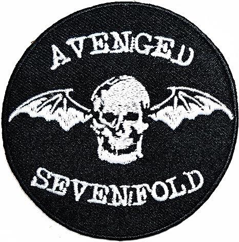 Avenged Sevenfold - Parche para camiseta con logotipo de Punk ...