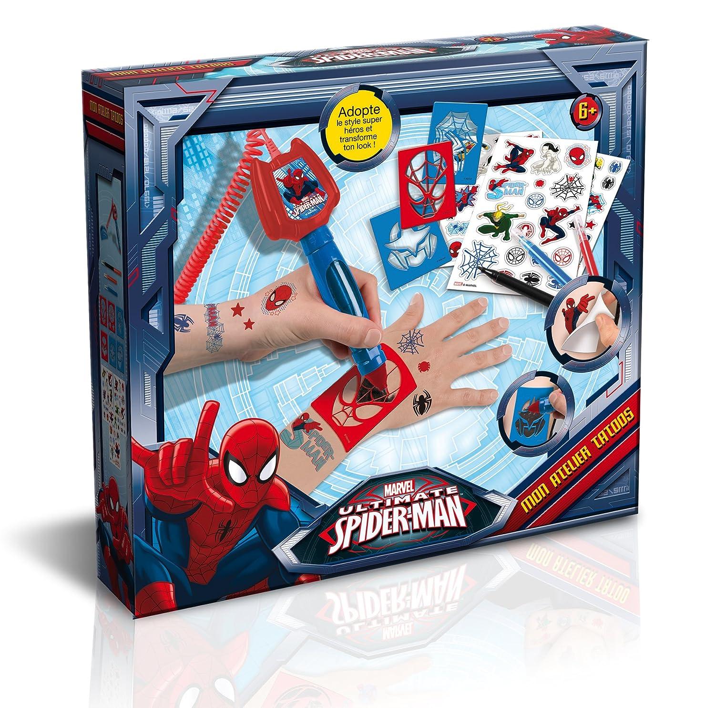 Canal Toys - mi taller de tatuajes Spiderman: Amazon.es: Juguetes ...